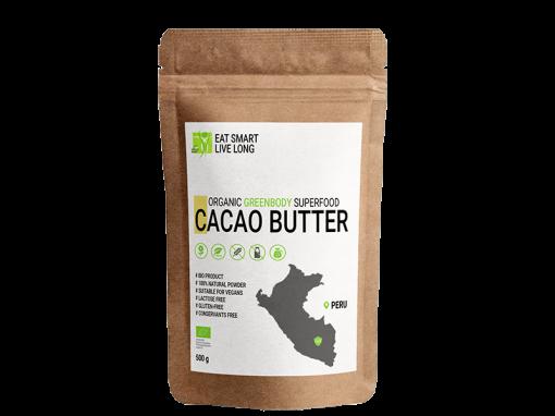 CACAO BUTTER - PERU - 500 g - kakaové maslo