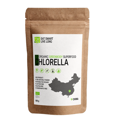 CHLORELLA - CHINA - 500 g